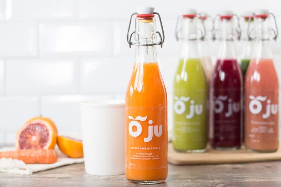 O'ju juices offer